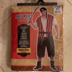NET Pirate Hallowing costume AHOY MATEY
